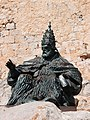 Statue Papa Lunas 2 in Peniscola.jpg