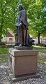 Statue St Moritz-Kirchstr 2-8 (Mittenwalde) Paul Gerhardt2.jpg