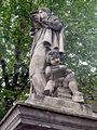 Statue coté sud - Détail - Place de la Rotonde - Cours Mirabeau - Aix en Provence - P1360587-P1360593.jpg