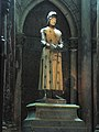 Statue of Joan of Arc in Reims cathedral.jpg
