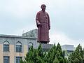 Statue of Lin Sen in Jieshou Park Close up 20140806.jpg