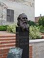Statue of Ottó Herman by Gábor Veres, Köszeg.jpg