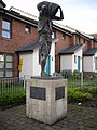 Statue of the man who gave Old Monklands its name. - geograph.org.uk - 1311356.jpg