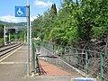 Stazione di Fiesole-Caldine Rampa sottopassaggio.JPG