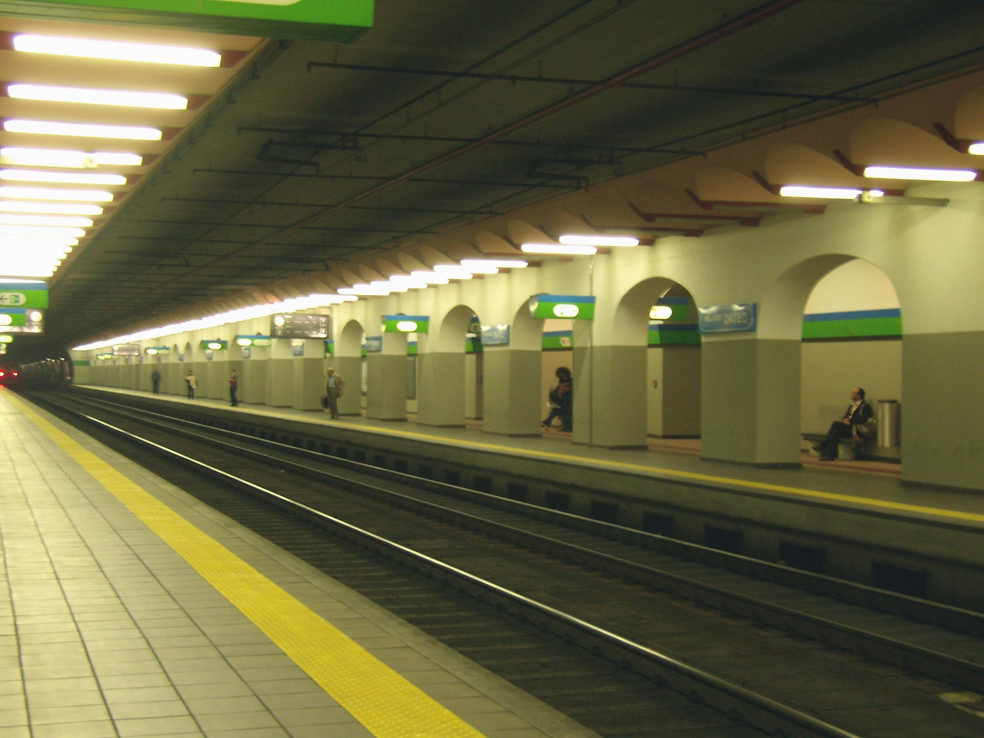 Stazione di milano dateo wikipedia - Milano porta garibaldi passante mappa ...