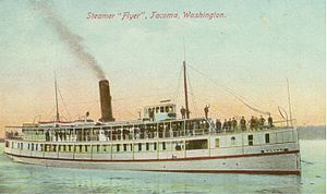Flyer (steamboat) - Flyer circa 1910