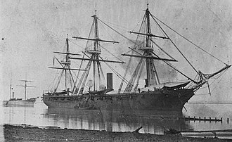 Benjamin Jackson (soldier) - USS Richmond during the American Civil War