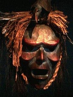 Beau Dick Kwakwakawakw Northwest Coast woodcarver and indigeous chief from Canada