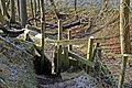 Stile on Church Bank Footpath, Warley - geograph.org.uk - 970791.jpg