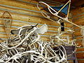 Still Life with Caribou Antlers and Sleigh - Arctic Chalet Hotel - Inuvik - Northwest Territories - Canada.jpg