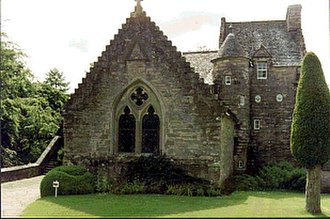 Clan Drummond - Stobhall Castle and its chapel