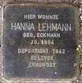 Stolperstein Arnstadt Ried 7-Hanna Lehmann.JPG
