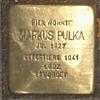 Stolperstein Bernstorffstr 99 für Markus Pulka