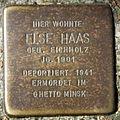 Stolperstein Delmenhorst - Else Haas (1901).JPG
