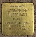 Stolperstein Eisvogelweg 5 (Zehld) Margarethe Silbermann.jpg