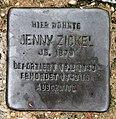 Stolperstein Feuerweg 1 (Wittn) Jenny Zickel.jpg