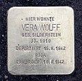 Stolperstein Klopstockstr 5 (Hansa) Vera Wolff.jpg