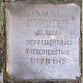 Stolperstein Mittelweg 8-10 Josef Meier.jpg