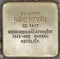 Stolperstein für Istvan Bard - Bard Istvan (Budapest).jpg