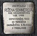 Stolperstein für Ruzena Sommerova.JPG