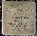 Stolpersteine Solingen Düsseldorfer Str. 26 Karl Wallach.jpg