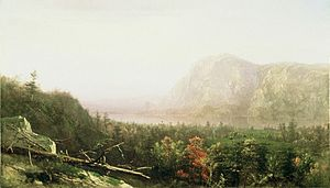 Storm King Mountain (New York) - Storm King, by Homer Dodge Martin, in the style of the Hudson River School.