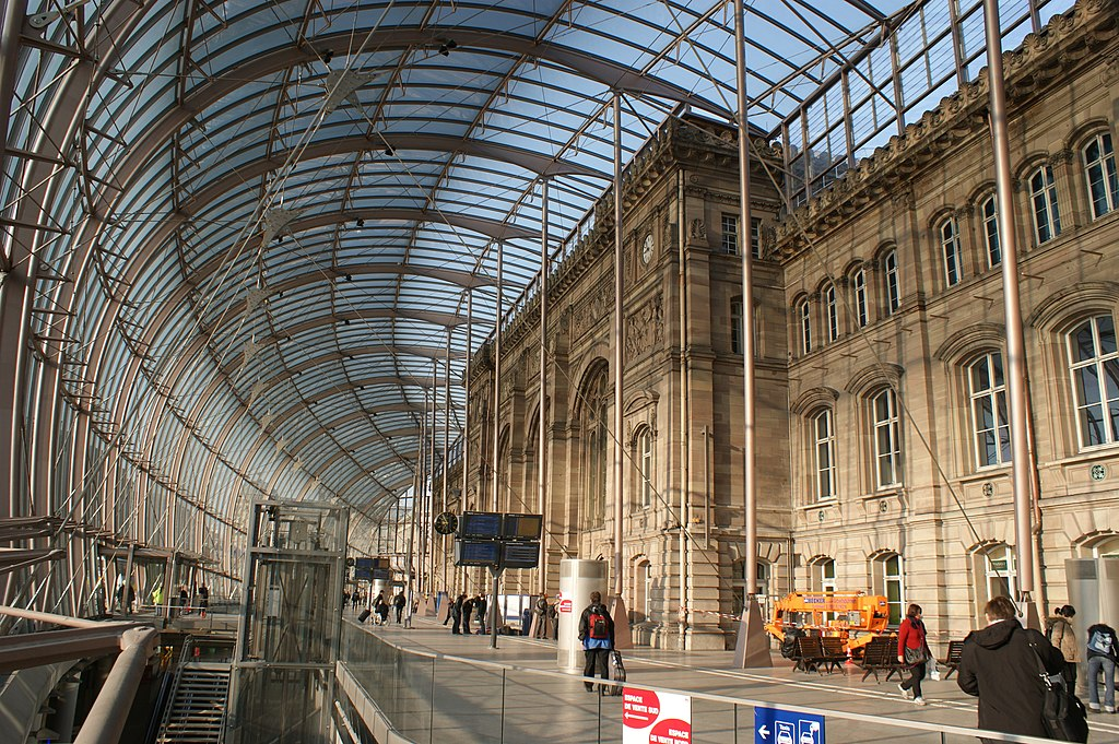 A whistle stop tour of beautifully designed train stations for K architecture strasbourg