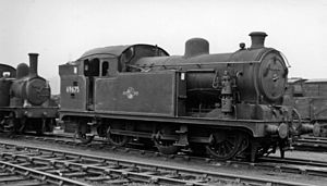 Chingford branch line - An N7 0-6-2T which was the mainstay of the passenger service for many years