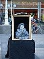 Street performer in Ban Jelačić Square.jpg