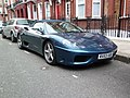 Streetcarl Ferrari 360 modena spyder blue (6435548317).jpg