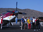 Strega Tiger and Hoot the 2015 Unlimited Air Race Champions by D Ramey Logan.jpg