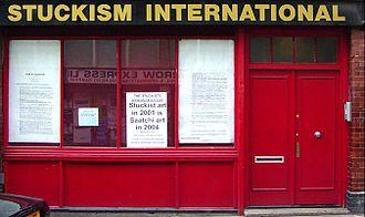 Charles Thomson (artist) - The Stuckism International Gallery, Shoreditch, London