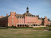 """The largest Students' Union building at Oklahoma State University, which doubles as a student activity center (""""student union"""" in the USA)"""