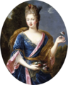 Studio of Pierre Mignard - A lady, said to be the Duchesse de Fontanges.png