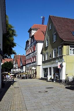Stuttgarter Straße in Vaihingen an der Enz