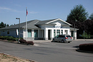 Post office in Sublimity