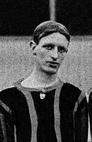 Sidney Sugden - Sugden while with Brentford in 1908.