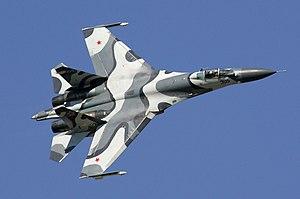 sukhoi su27 jet fighter
