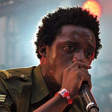 Romain Virgo performing at the Summerjam Festival 2013
