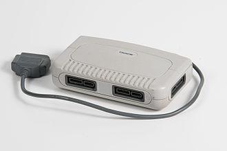 Multitap - An unlicensed multitap for the Super NES.