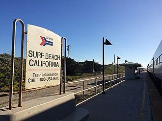 Surf station - Image: Surf Amtrak Station