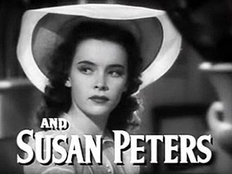 Susan Peters - Peters in the trailer for Tish (1942)