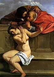 Artemisia Gentileschi: Susanna and the Elders