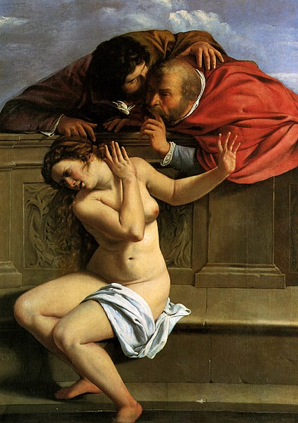 Fichier:Susanna and the Elders (1610), Artemisia Gentileschi.jpg