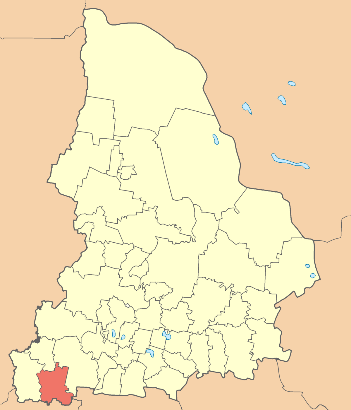 Sverdlovsk region - the rivers Tura, Pyshma, Kamenka: description, description and photo