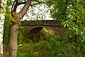 Szczurkowo. Kiedyś pod tym wiaduktem jeździły pociągi z Bartoszyc do Frydlandu (Prawdińska). - panoramio.jpg