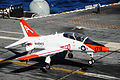 T-45C of VT-9 landing on USS Theodore Roosevelt (CVN-71) in 2013.JPG