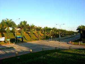 Bukit Jelutong - Image: T junction in Bukit Jelutong, Malaysia