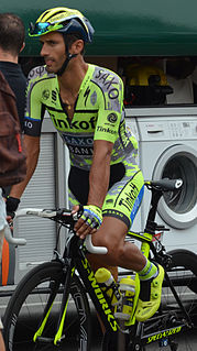 Daniele Bennati Italian road bicycle racer