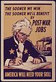 THE SOONER WE WIN THE SOONER WE'LL BENEFIT BY POST WAR JOBS. AMERICA WILL NEED YOUR SKILL - NARA - 515646.jpg